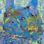 Blue French Bulldog Lulu Belle by RD Riccoboni