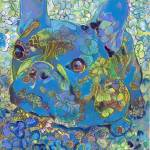 Blue French Bulldog Lulu Belle by RD Riccoboni