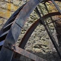 Rocky Run Wheel  by Karen Adams
