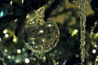Clear Ornament 01