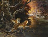 Rudolf Ernst, TWO TIGERS ON THE HUNT