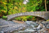 Stone Bridge in Fillmore Glen State Park