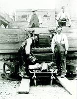 Surface worker at the Douglas Bank Colliery, Wigan