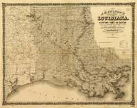 Map of the State of Louisiana (1863)