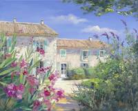 Countryhouse with oleander