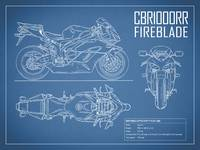 The CBR1000RR Fireblade Blueprint