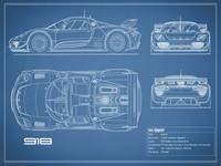 The 918 Spyder Blueprint