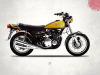The 1973 Z1 Classic Motorcycle