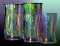 3D Colorful Crystal Glasses