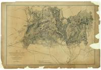 Civil War Map of the Battlefield of Bull Run, Virg