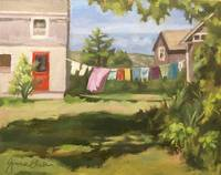 Laundry Day on Monhegan
