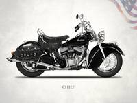 The 1946 Chief Vintage Motorcycle