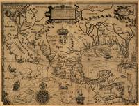 Map of Mexico and surrounding area (1600)