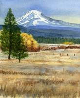 Mt. Adams with Autumn Colors (vertical design)