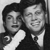 John F Kennedy And Jackie Art Prints & Posters by Tony Rubino