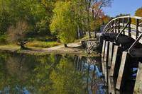 Reflections of Autumn Concord Massachusetts
