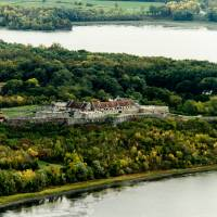 Fort Ticonderoga New York Lake Champlain Autumn Art Prints & Posters by Valerie Waters
