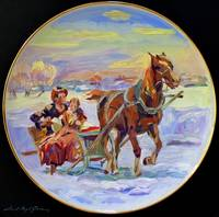 1573 CHRISTMAS MORNING SLEIGH RIDE FA