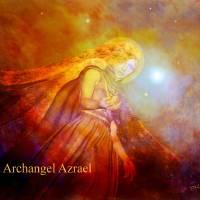 Archangel Azrael Art Prints & Posters by Valerie Anne Kelly