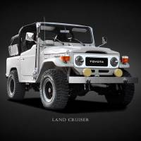 The Land Cruiser BJ40 Art Prints & Posters by Mark Rogan