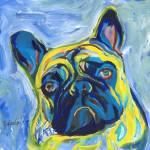 Mr Frenchie The French Bulldog  by RD Riccoboni