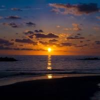 Sunset Over the Tyrrhenian Sea Art Prints & Posters by Rae Tucker