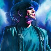 Turquoise MacPhisto Art Prints & Posters by Kelly Eddington