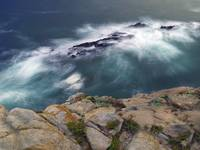 Point Lobos South Point Cliff by WorldWide Archive