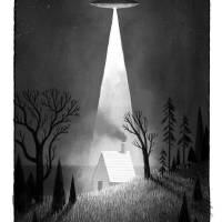 The Visitor Art Prints & Posters by Peter Brown