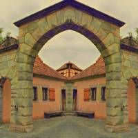 Symmetrical Archway Art Prints & Posters by Carmen Wolters