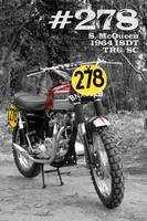 No 278 The McQueen ISDT Motorcycle
