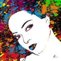 Diana Ross | Splatter Series | Pop Art Art Prints & Posters by William Cuccio