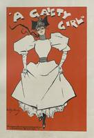 A Gaiety Girl, 1894 french vintage poster