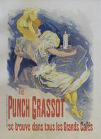 Punch Grassot, 1895 vintage french poster