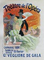 Carnaval, 1896 French Vintage Opera Poster