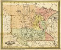 Map of Minnesota Territory (1852)