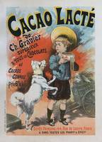Cacao lacte, 1893 French Vintage Poster