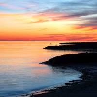 """""""Forest Beach Sunset"""" by ChrisSeufert"""