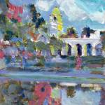 Balboa Park Reflections of Casa Del Prado by RD Riccoboni