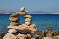 Tower of rocks, Halki