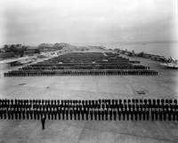 Fleet Air Wing Fourteen personnel in formation, No