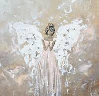 You Are Cherished - Angel Painting