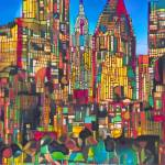 Holiday Lights New York City by RD Riccoboni