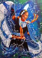 Water is Life - Fancy Shawl Dancer