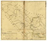 Map of Middlesex County, New Jersey (1781)