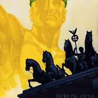 Summer Olympic Games Berlin 1936 Poster Art Prints & Posters by Vincent Monozlay