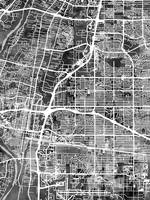 Albuquerque New Mexico City Street Map