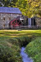 Historic Grist Mill in Sudbury