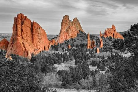 Garden of The Gods Colorado BWSC