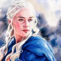 Daenerys Targaryen Art Prints & Posters by Kelly Eddington